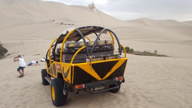 sand dune buggy peru