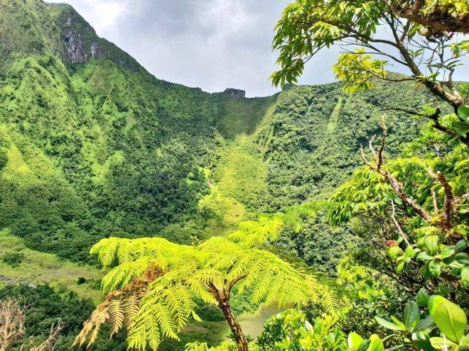 volcano hike st kitts