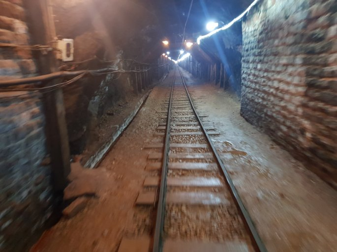 khewra salt mine pink Himalayan salt