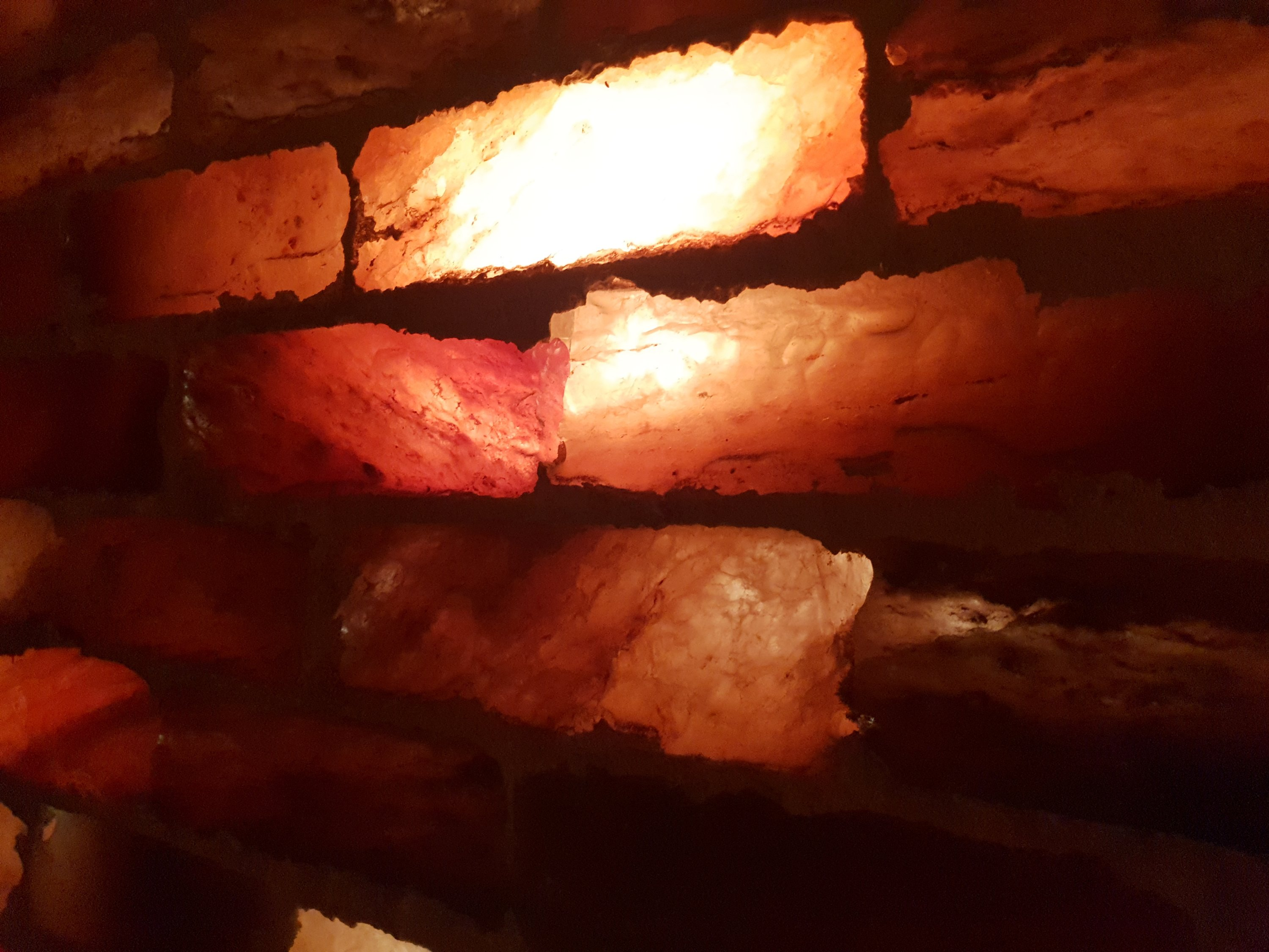 khewra salt mine pink Himalayan salt