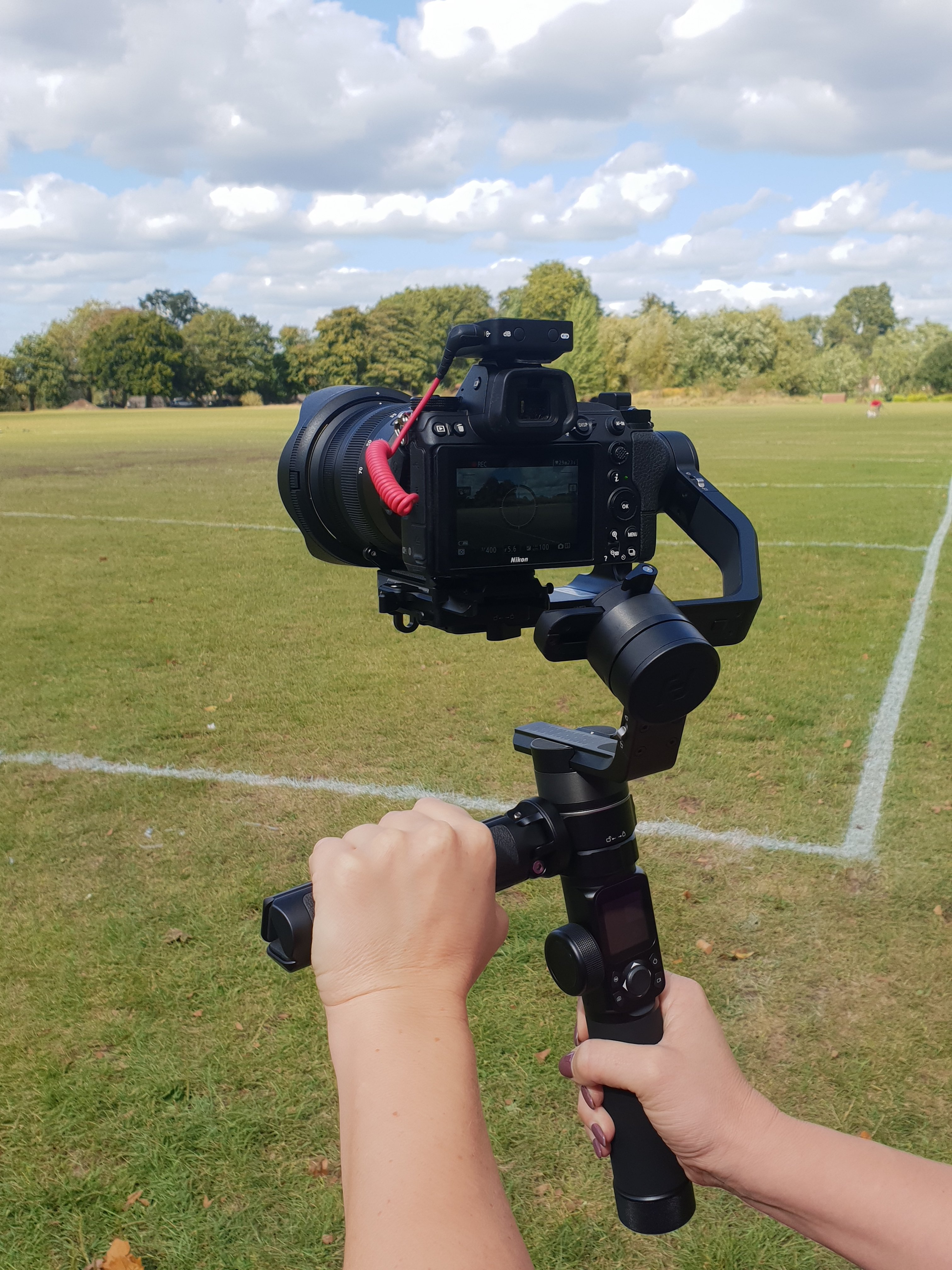 AK4500 gimbal stabiliser review